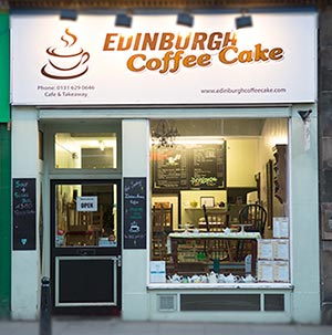 Cafe - Edinburgh Coffee Cake