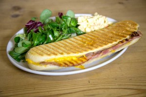 Edinburgh Cafe - Ham and Cheese Panini