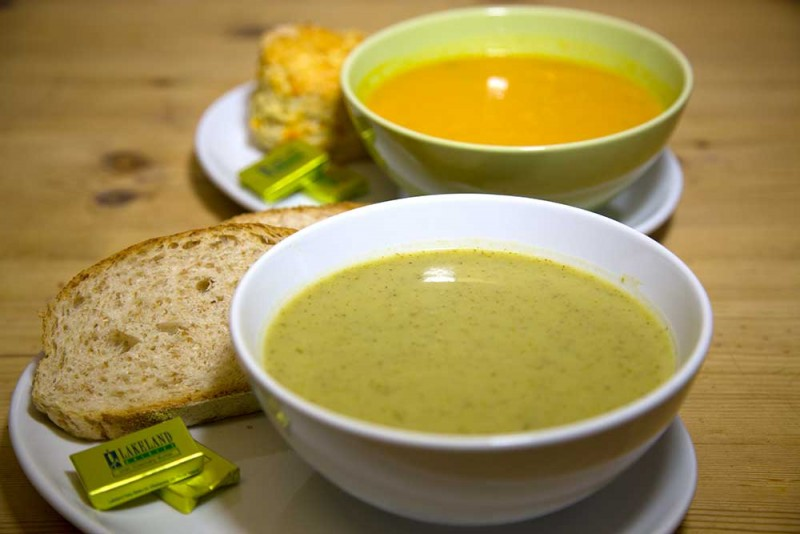 Edinburgh Cafe - Hot Soup
