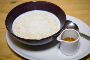 Edinburgh Cafe - Porridge and Honey