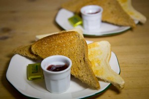 Edinburgh Cafe - Toast and Jam